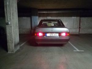 Rücklichter Mercedes 190e